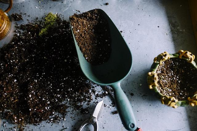 Gardening Pot Soil Scoop Trowel Dig Plantation